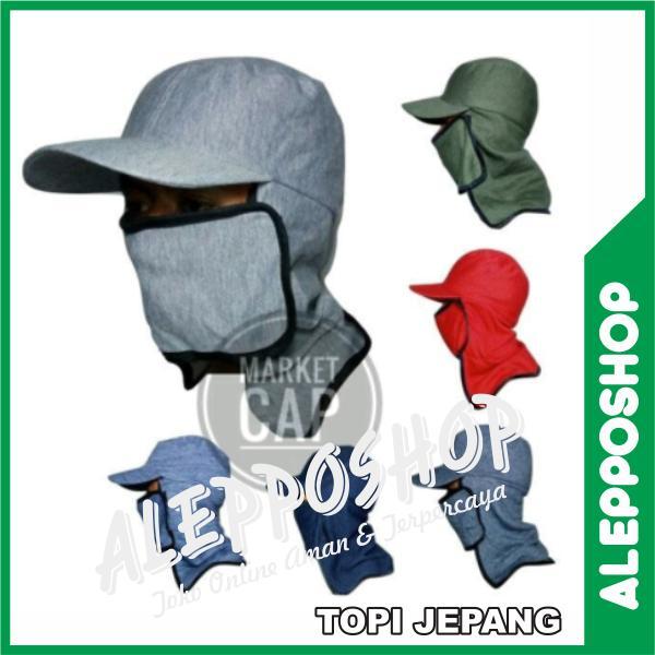 Topi Masker atau Topi Jepang Pelindung Wajah