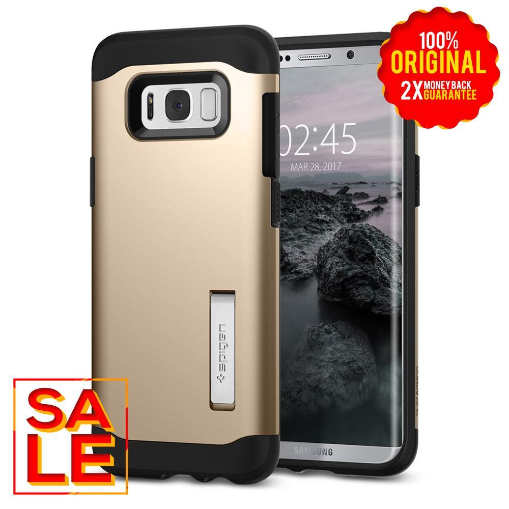 Spigen Slim Armor Case for Galaxy S8 Plus - Gold Maple