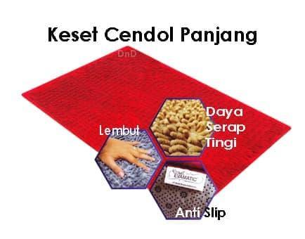 Keset Cendol Microfiber Panjang Evamatik Anti Slip Floor Mat Halus By Diskon Murah.