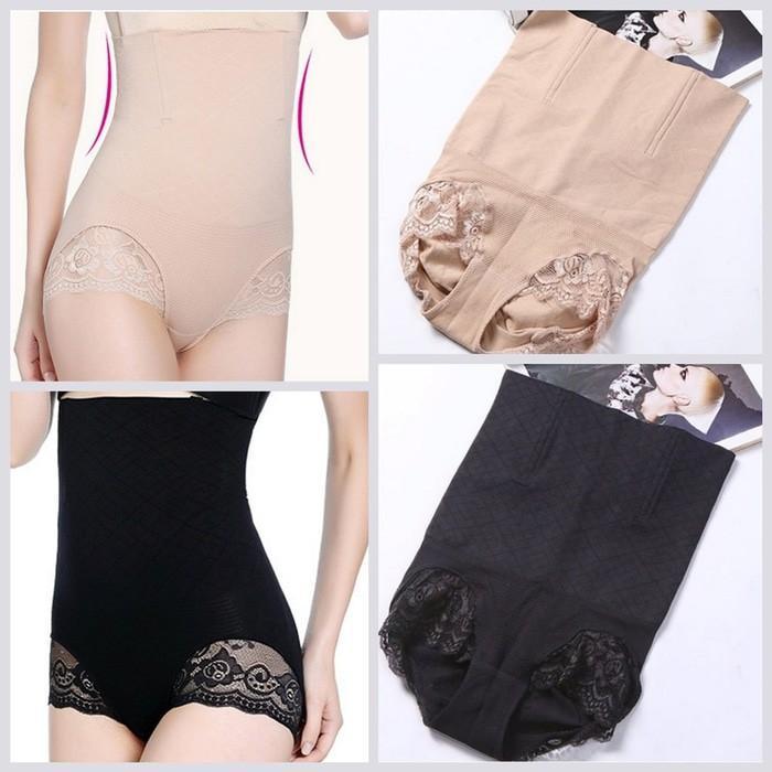 Promo Sale [ Panjang Pake Kawat Penyangga ] Munafie Lace Long Slim Pant Terlaris Dan Termurah By Vitaasuka.