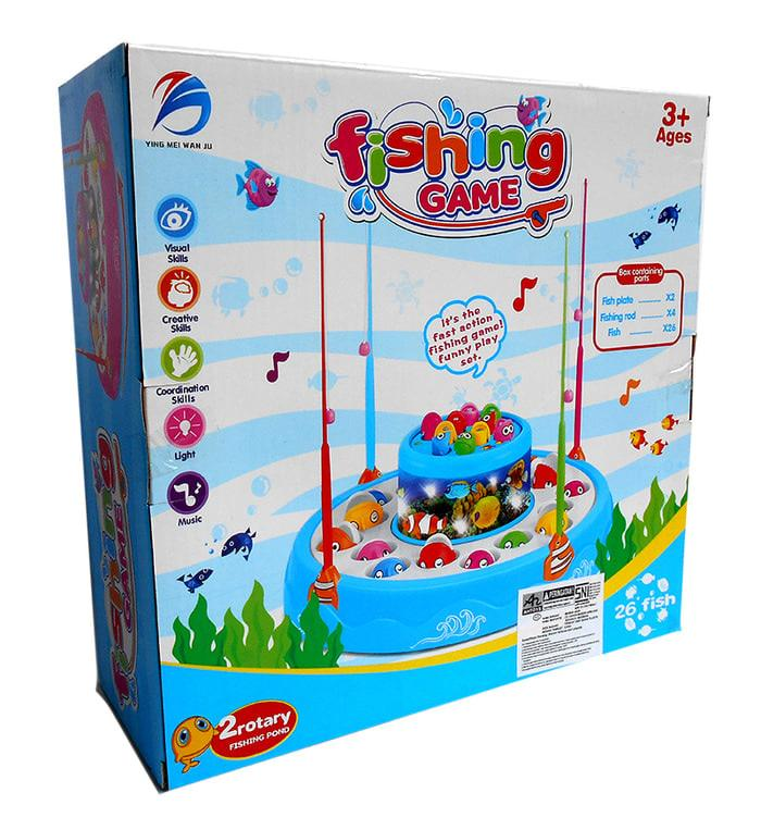 PROMO!!! FISHING GAME 26 FISH 8002 - MAINAN ANAK PANCINGAN IKAN - Wok2fI