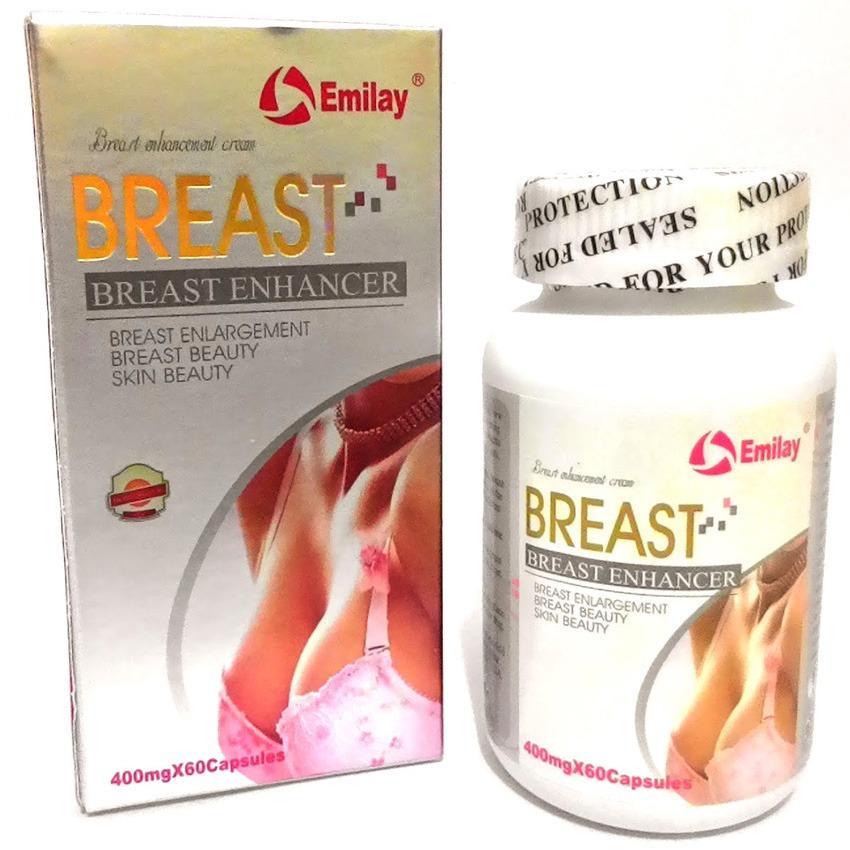 Emilay Breast Enhancer USA Original Perawatab Payudara - 60 Kapsul