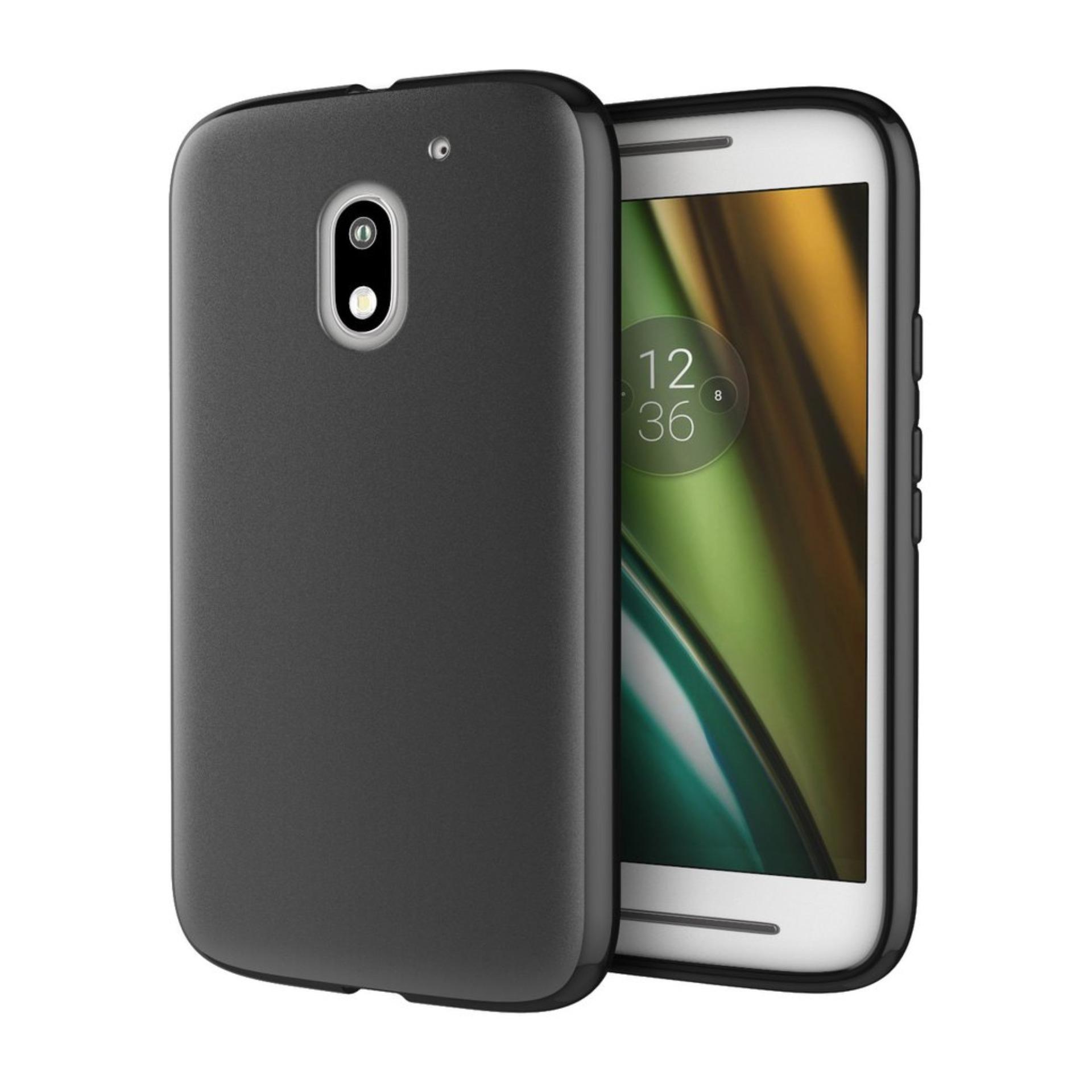 Buy Sell Cheapest Motorola Moto E3 Best Quality Product Deals Motorolla Power Casing Back Case Kasing Design 40 Darknight For Dual Slim Black Matte Softcase