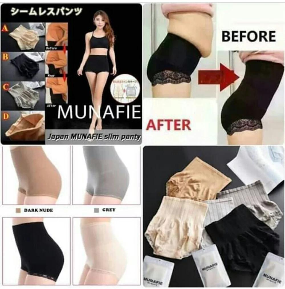 Buy Sell Cheapest Munafie Sliming Pants Best Quality Product Deals Korset Tebal 80gr Slimming Original Japan