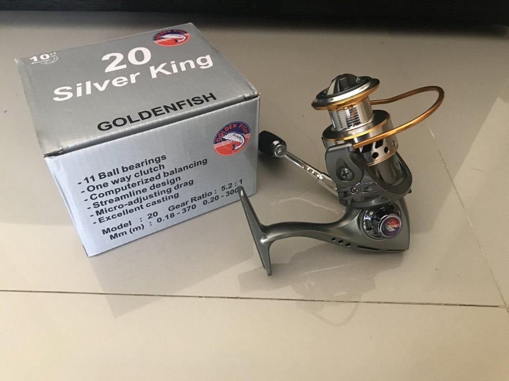 Reel Golden Fish Silver King 20  TERBARU BOS PANCING zerya_fishing