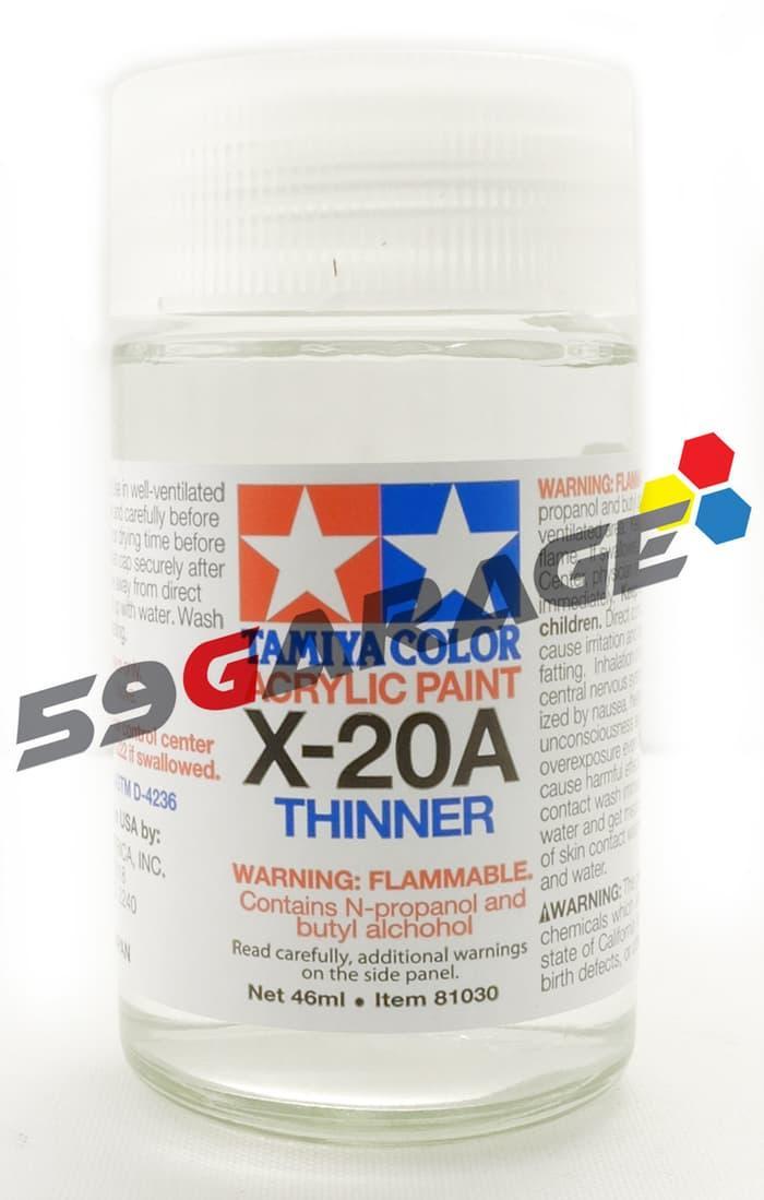 Terbaru!! Tamiya Acrylic Thinner 46Ml - ready stock