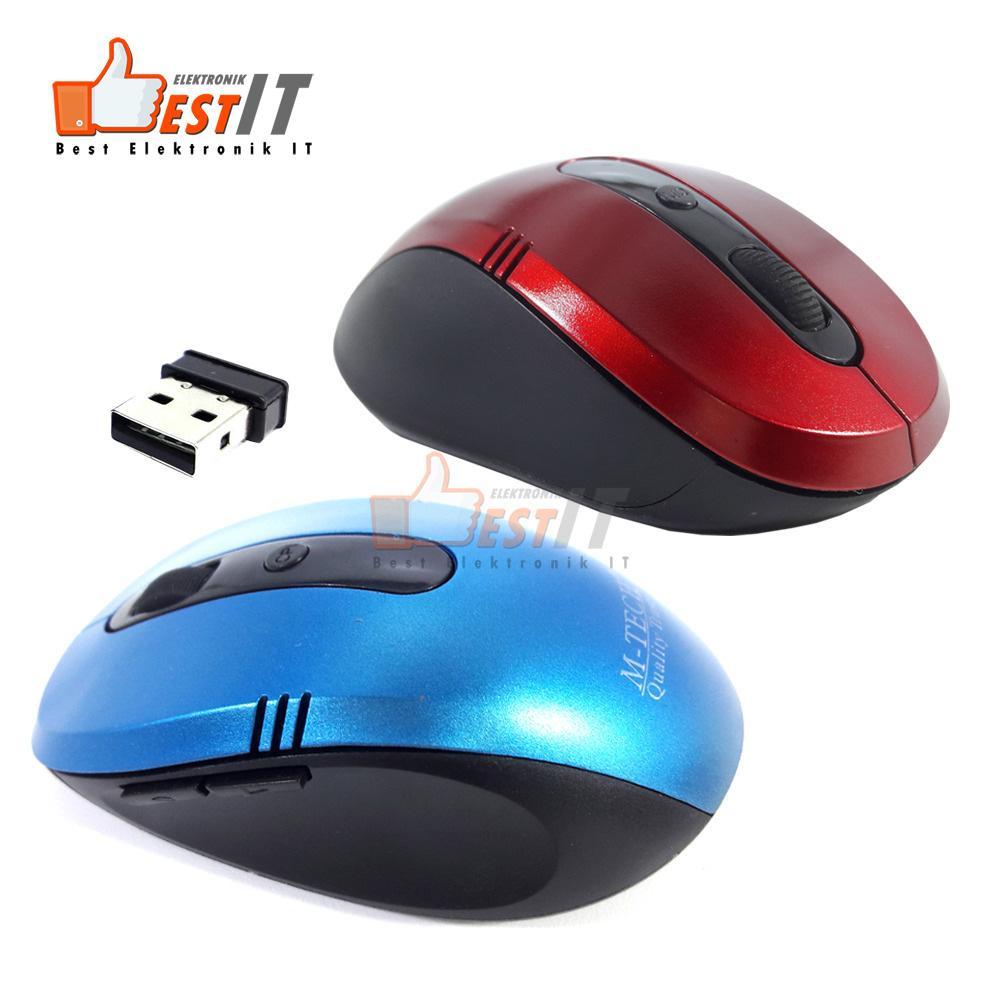 Jual Produk Mouse Wireless Murah Daftar Harga Spesifikasi Taffware Optical 24g Black M86 1200dpi