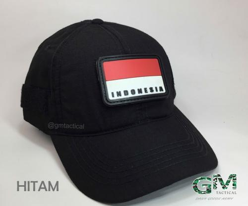 Topi Tactical With Velcro Polos Free Patch