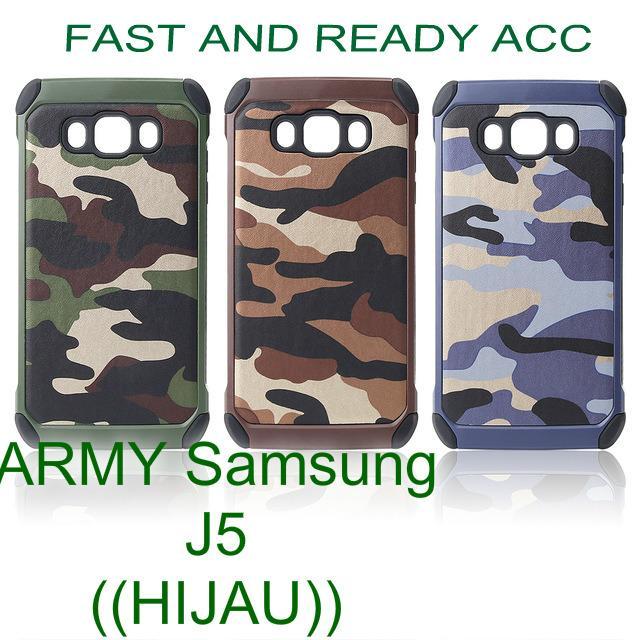 NX Case ARMY SAMSUNG J5 BIASA -(R)
