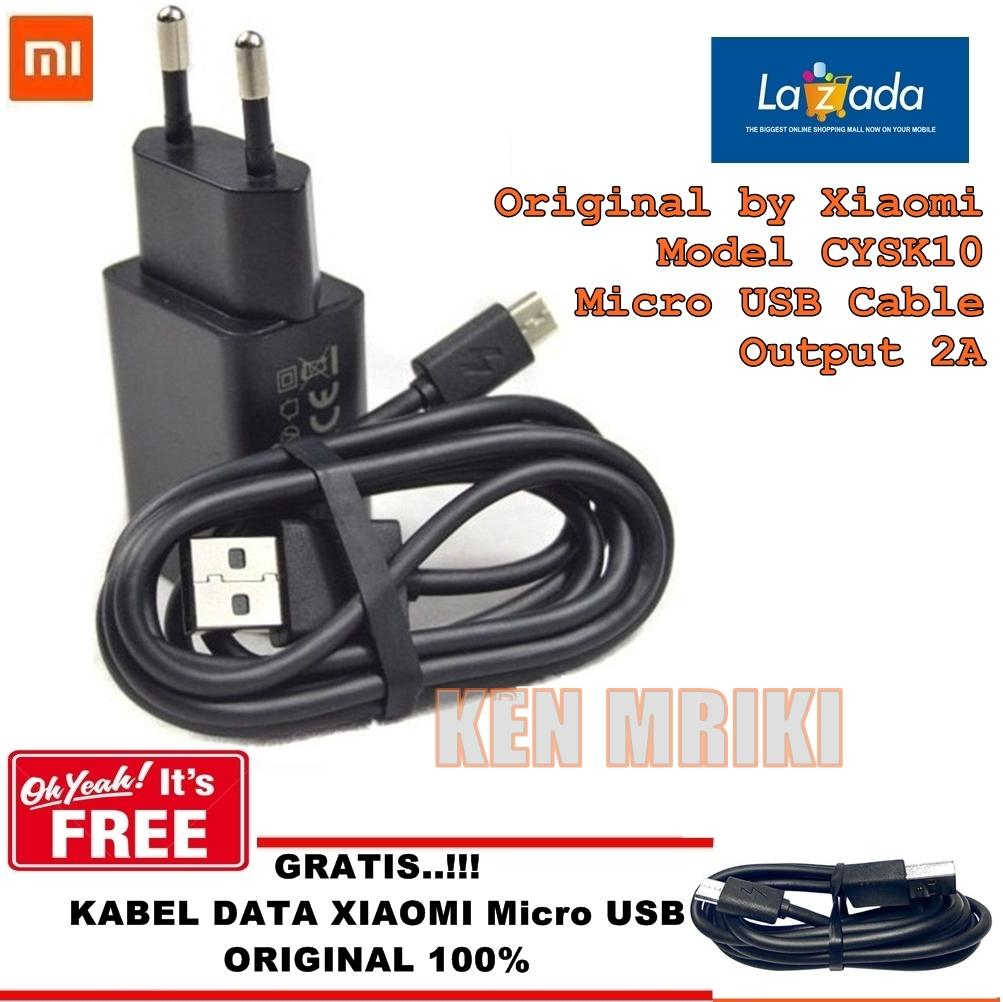 Xiaomi Travel Charger Type C For Mi4c 2a Original Nonpack Lenovo P36 Cysk Output Micro Usb Gratis Kabel Data Support Fast