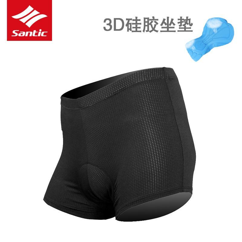 Santic Santic item baru celana dalam bersepeda pria sepeda peralatan sepeda gunung celana pendek spons duduk