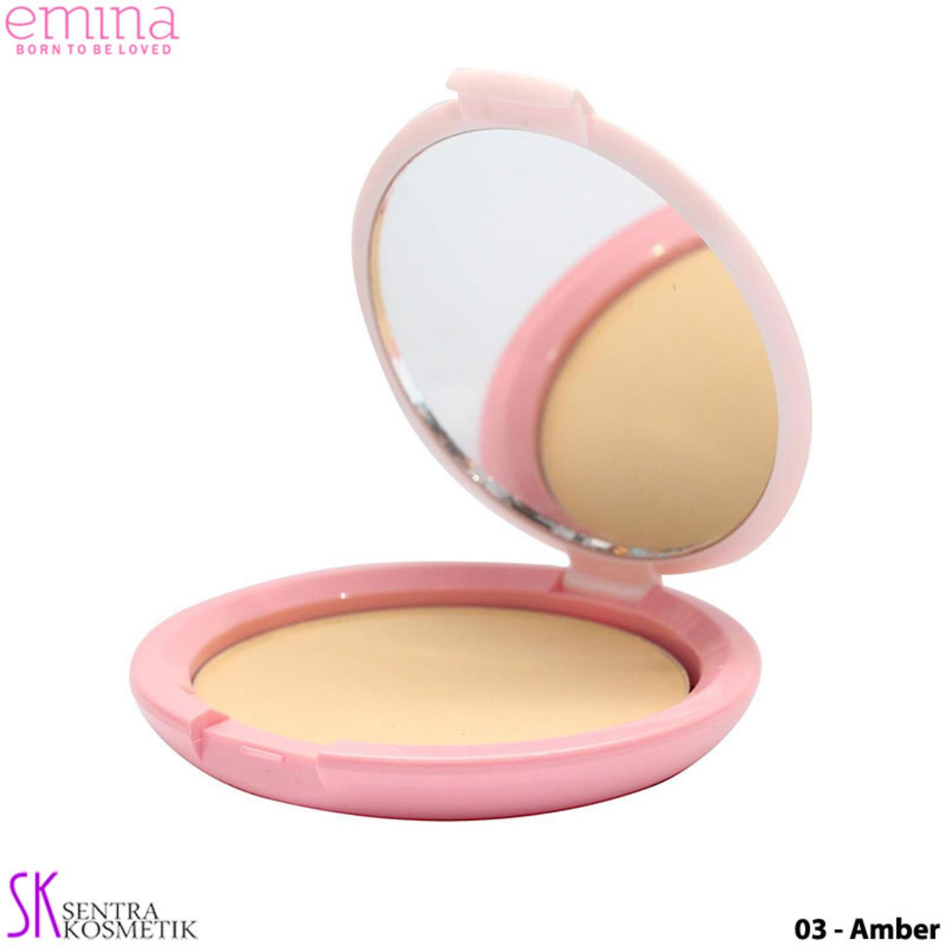 EMINA Bare With Me Mineral COMPACT POWDER 03 - Amber