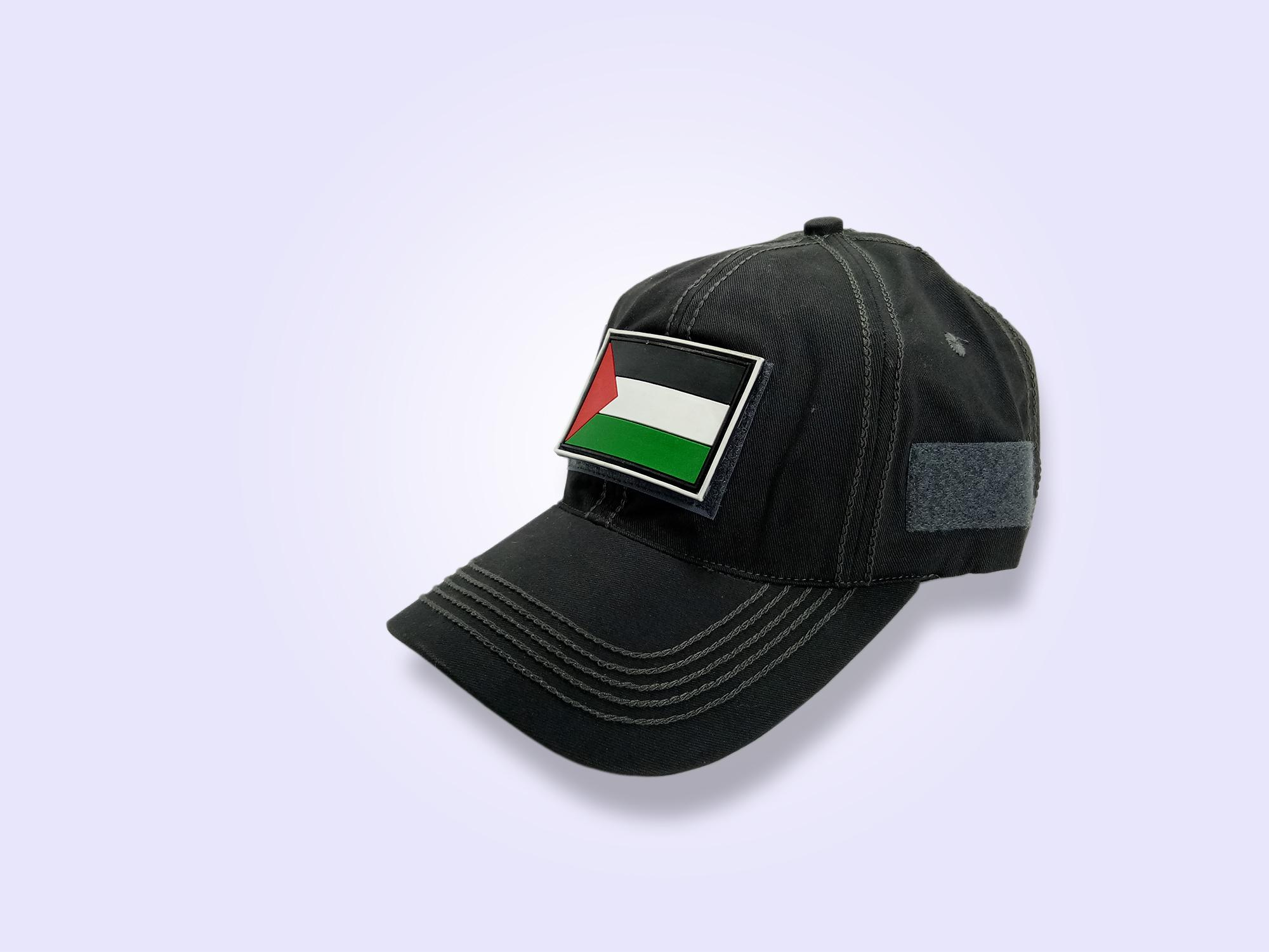 Topi Polos Baseball Tactical Emblem Palestina Pria Keren -Murah Dan Stylish