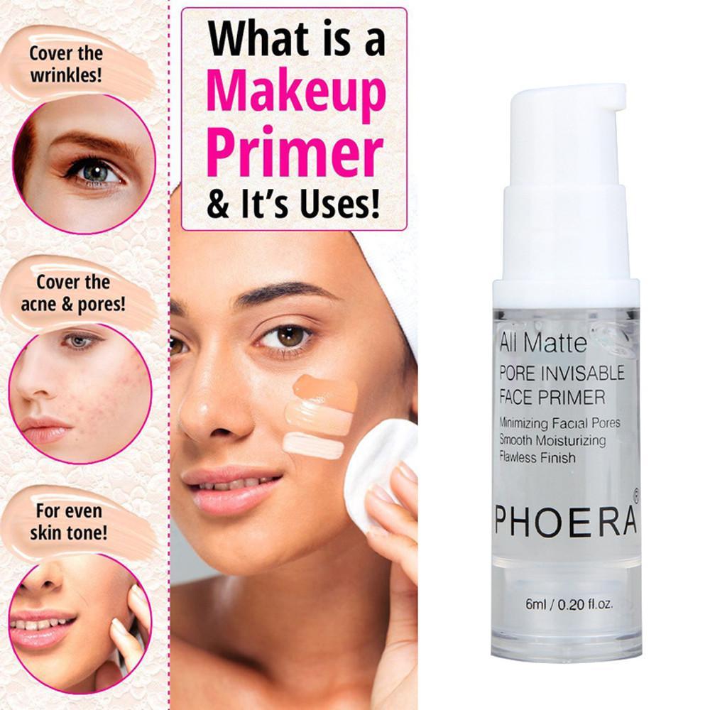 Fashiondeal 1 PC Phoera Terisolasi Pelembab Alat Makeup Dasar Wajah Makeup Primer