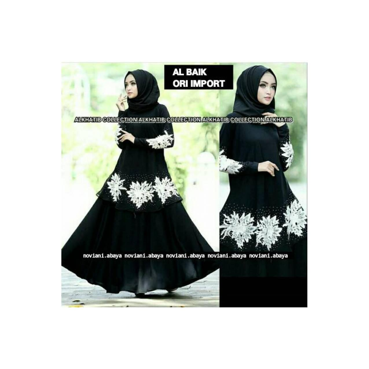 Abaya Al Baik Ori Import Saudi Alkhatib Collection