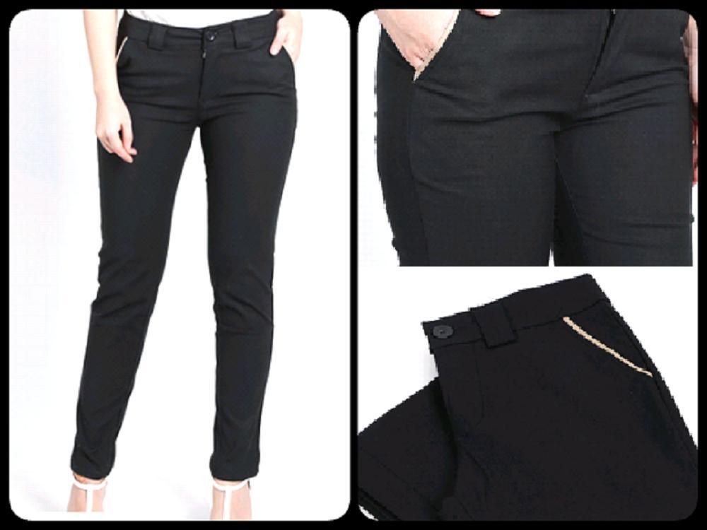 cipitih shop - Celana Bahan Kerja Wanita / Celana Chino Wanita / Celana Kerja Wanita /