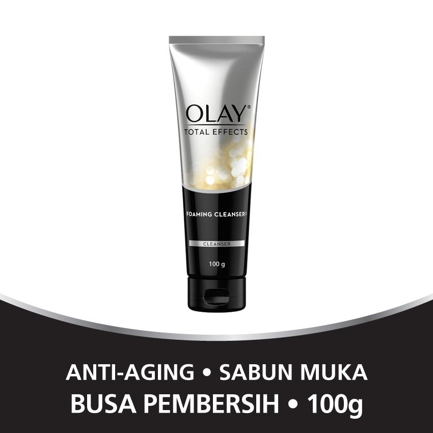 Olay Total Effects 7 In One Foaming Cleanser - 100gr By Lazada Retail Olay.
