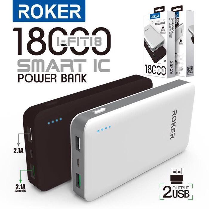 Powerbank Roker 18000mAh R180 (power bank pb)