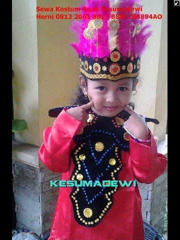 Terbaru! Gorontalo Tk | Baju Karnaval Pawai Parade Pentas Seni - ready stock
