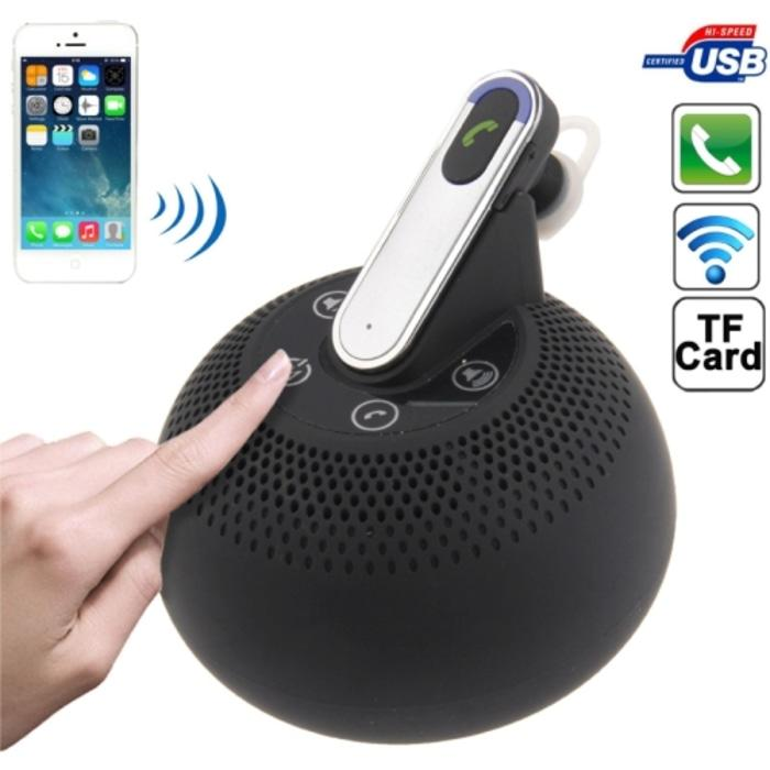 Multi-Functional 3 In 1 Stereo Bluetooth Speaker + Powerbank