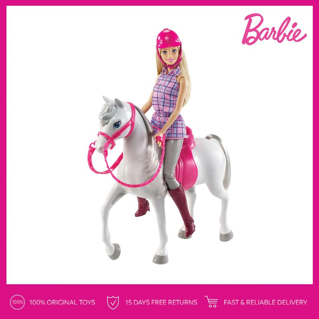 Barbie Doll   Horse Mainan Anak Perempuan Kuda Boneka 19a133e9ab