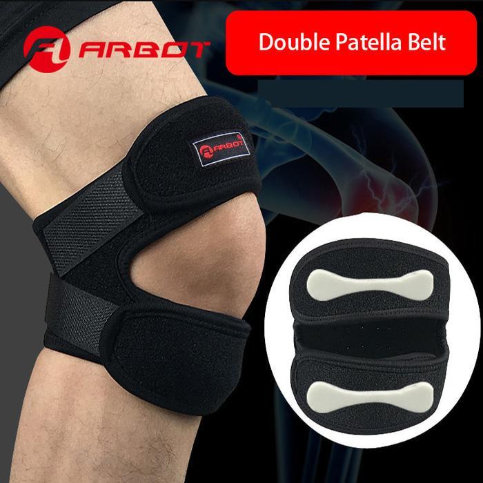 HARGA PROMO!!! Arbot Knee Support Patella Belt Elastic Bandage Sport Strap Knee 1 PCS - nFovGr