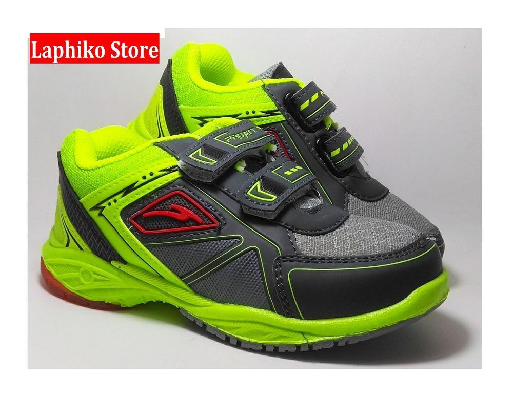 Laphiko Sepatu Sekolah Anak Laki Perekat - Pro ATT TDR