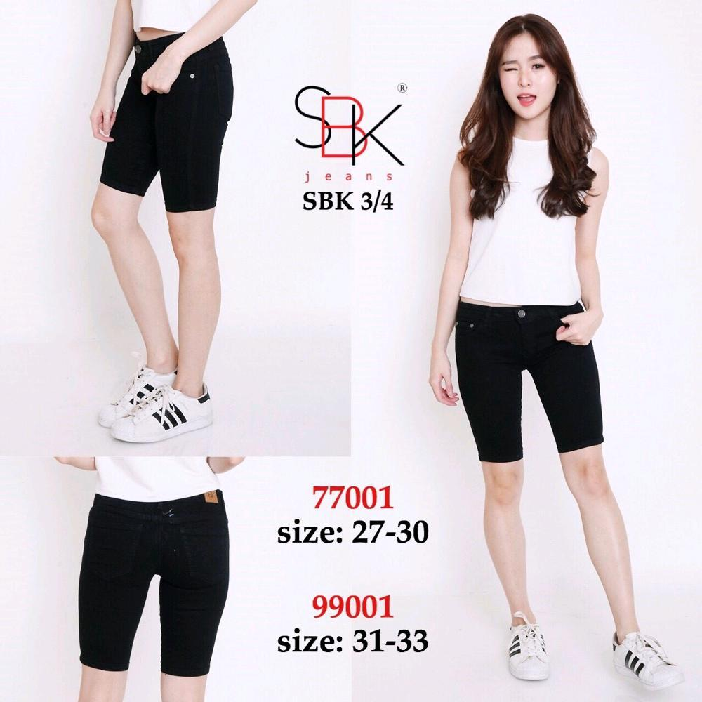 celana jeans SBk 77001 3per4 size 27 30 di lapak dodishop happy79