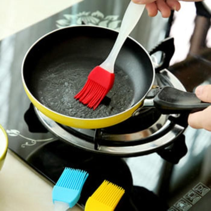 Kuas Roti Barbeque Silikon Food Brush Silicone Cake Mentega Dapur Kue -