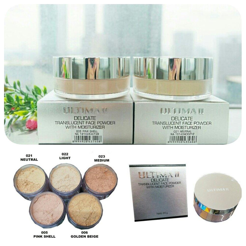 ULTIMA II Delicate Translucent Face Powder With Moisturizer - 24 gram