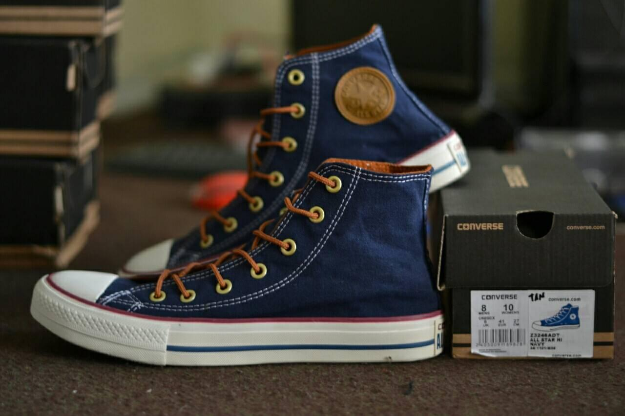 Sepatu Sneakers Converse CT Tali Tan High