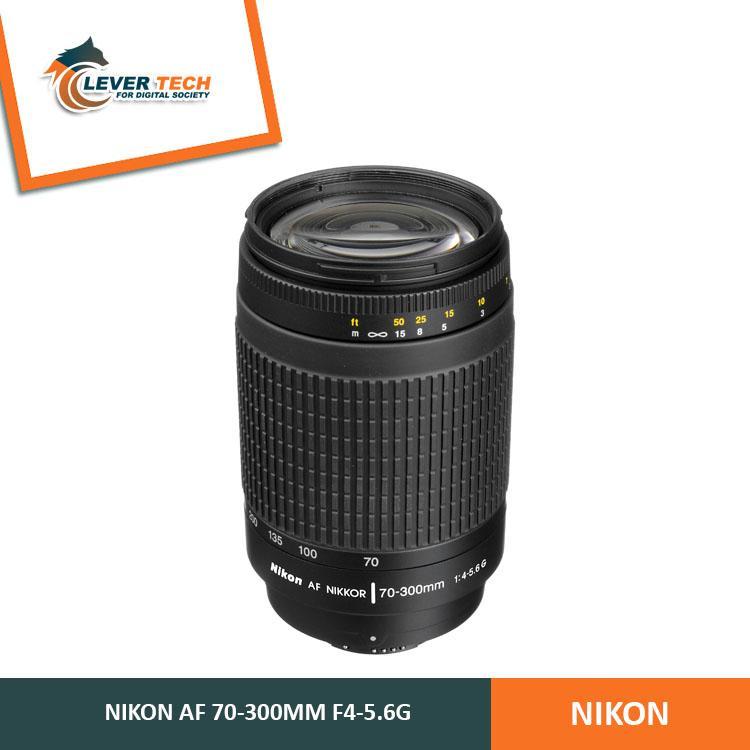 Nikon Lensa AF 70-300mm f/4-5.6 G