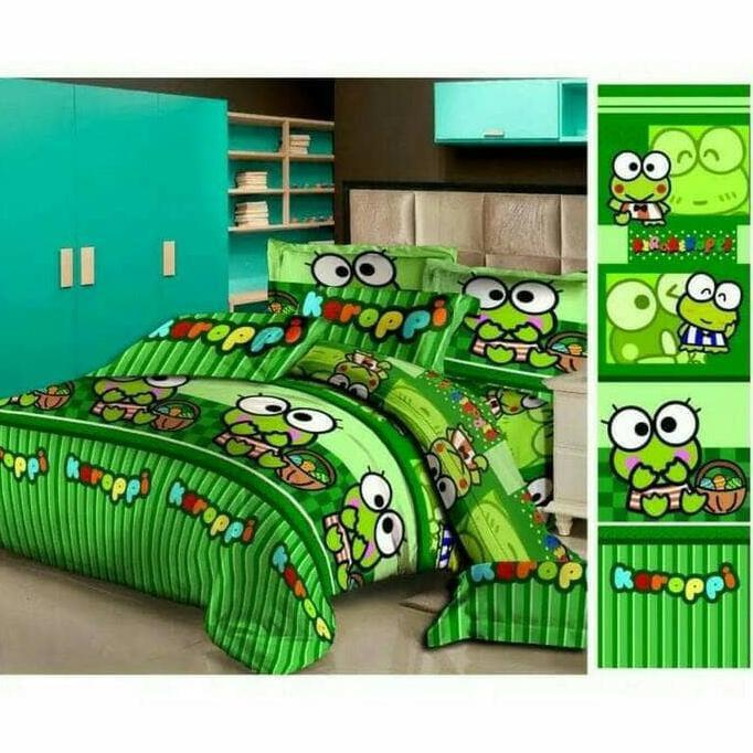 BED COVER & SPREI KEROPPI 120X200 - FGHSGH
