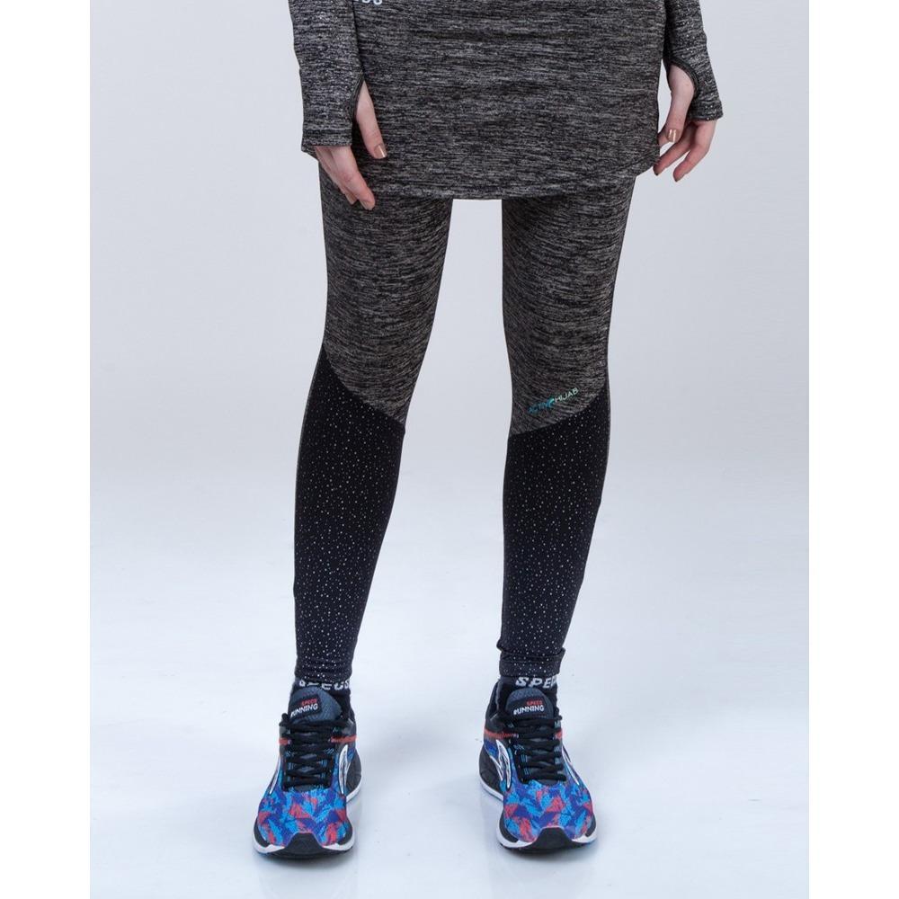Celana Legging Specs Original Esorra Skirt Leggings Heather Black 903440