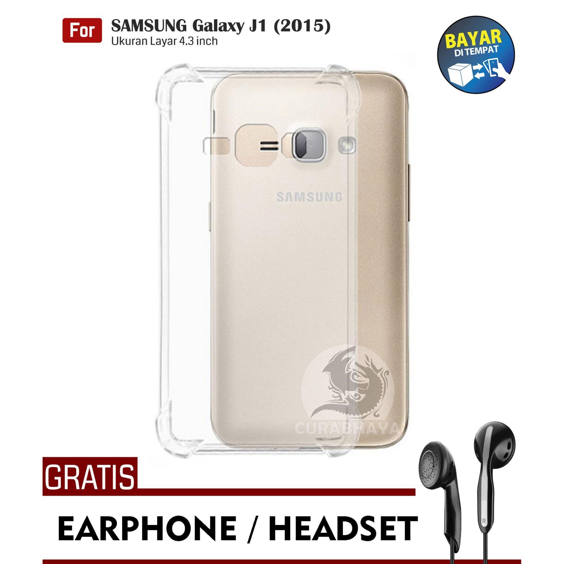 AirShock Samsung Galaxy J1 (2015) / J100 / Duos | Anti Crack Premium Softcase Cushion ShockProof +