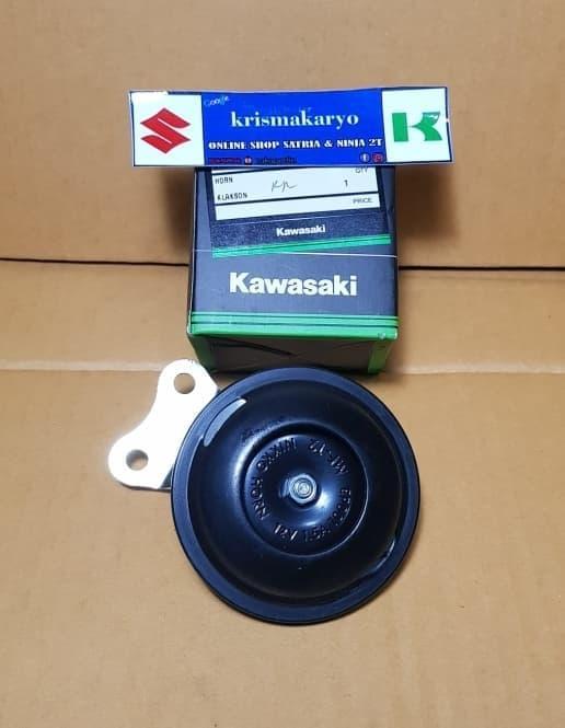 Klakson Ninja 150 RR Seris KGP   ( klakson motor mobil keong denso suara waterproof telolet hella polisi sepeda fer )  