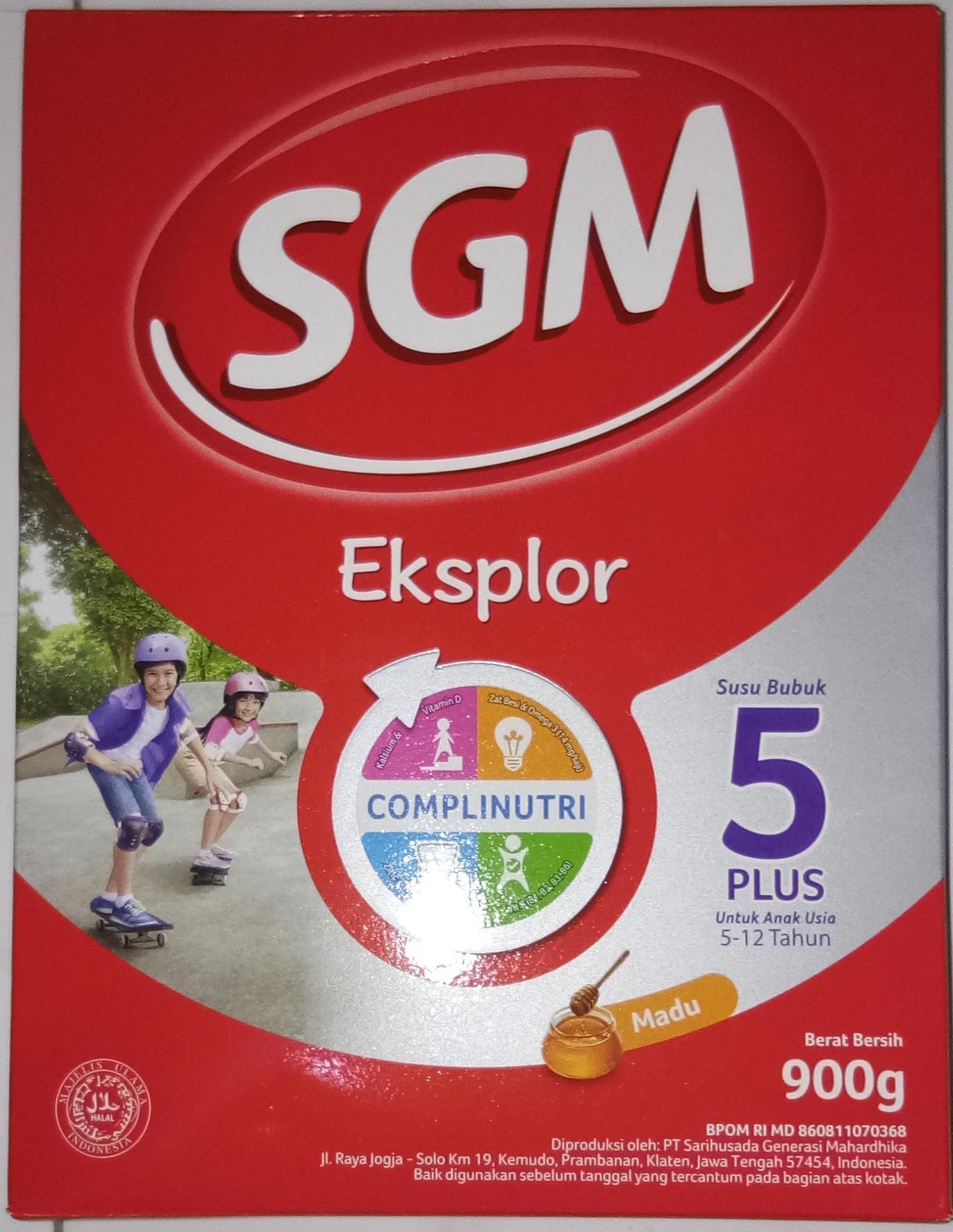Susu Pertumbuhan 3tahun Terbaik Bebelac 4 Fos Gos Madu 400g Sgm Eksplor 5plus 5 12 Tahun Box 900gr