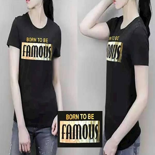 Hj - Kaos Basic Born To Be Famous