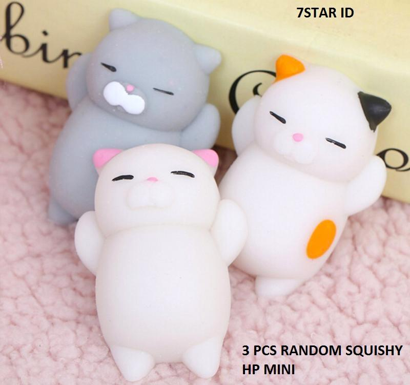 3 PCS Aksesoris Fashion HP 7STAR - Squishy Toy Fidget Hand Rising Model  Animal Lucu Menggemaskan dcf50c47cb