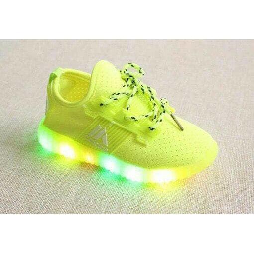 Sz.26-36 Sepatu Anak Adidas Yeezy Lampu LED