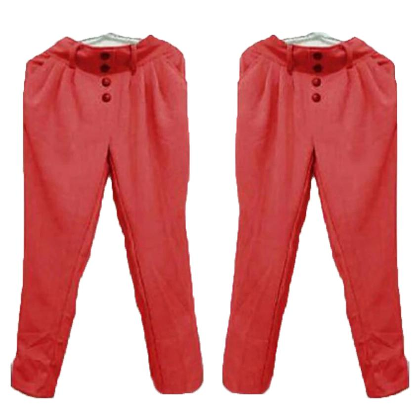 Grateful Fashion Pants Aurel 2 -  Merah - Best Seller
