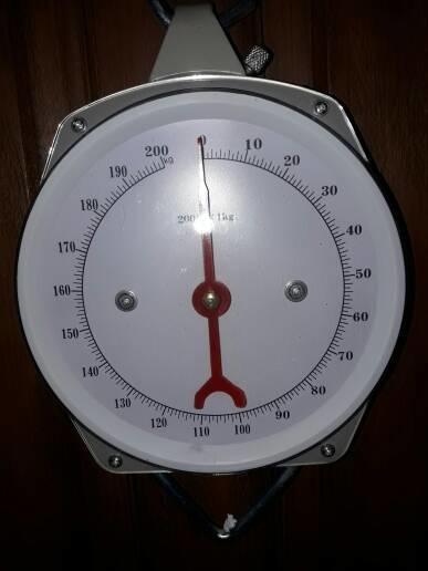Timbangan Gantung Analog Jarum Manual 200kg 200 kg