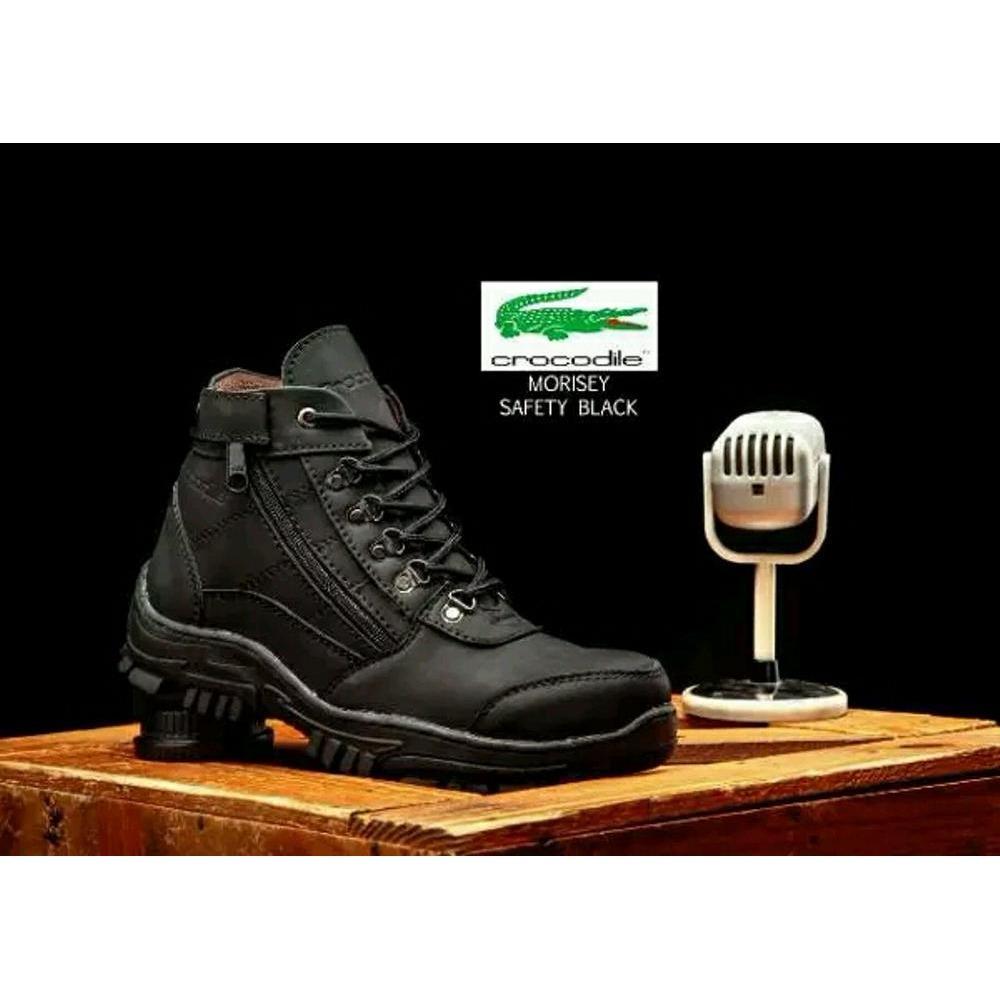 Sepatu CROCODILLE ZIPPER MORISEY Sepatu boots safety touring