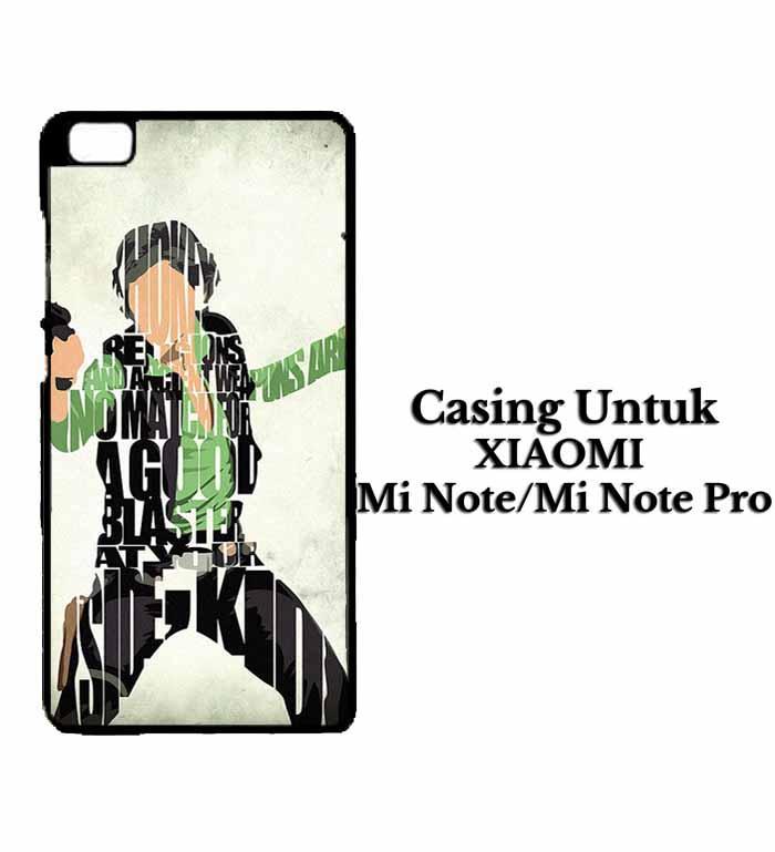 Casing XIAOMI Mi NOTE Han Solo Typography Hardcase Custom Case Se7enstores