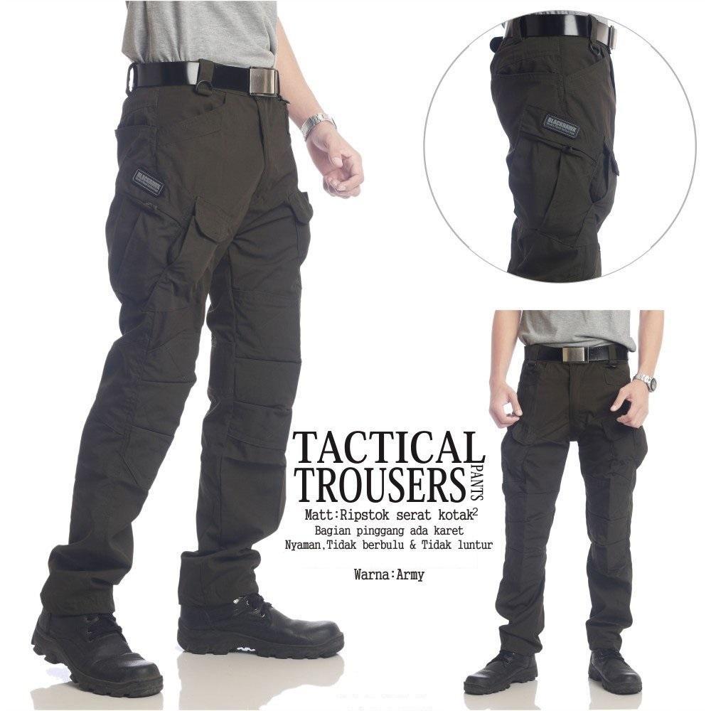 Beli Celana Tactical Blackhawk Outdoor Store Marwanto606 Panjang Hijau Size 28 48 Taktikal Green Army