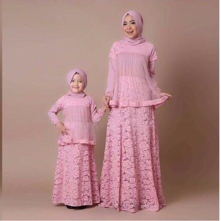 dandelia / MK WARDANI (rd) / couple mom & kid / couple ibu anak / dress ibu anak / maxi dress / fashion muslim / muslim wanita / muslim anak