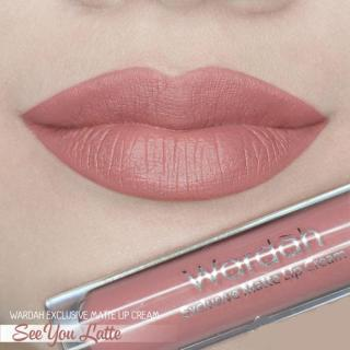 Wardah [03] Exclusive Matte Lip Cream - 03 See You Latte thumbnail