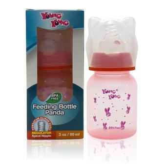 Pencarian Termurah YOUNG YOUNG Botol Susu [90ML] Feeding Bottle Panda Asi BPA Free IL