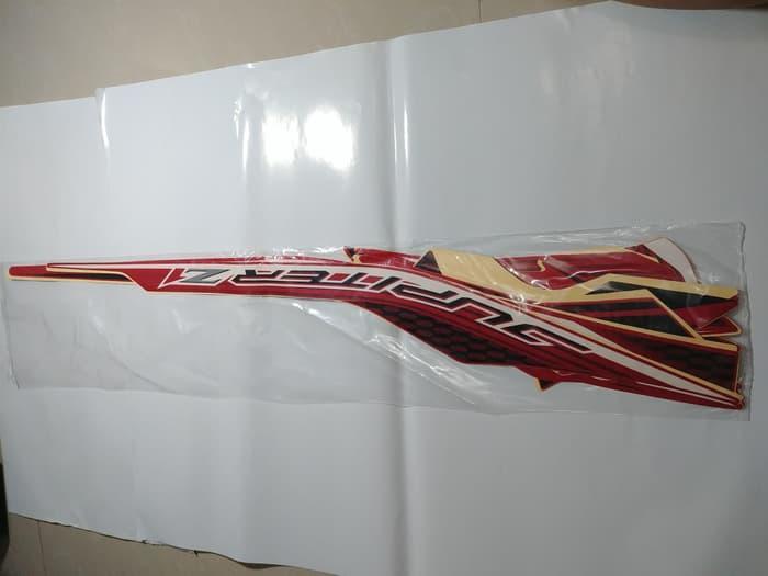 Stiker Bodi & Lis Body & Striping Jupiter Z1 2014 Merah