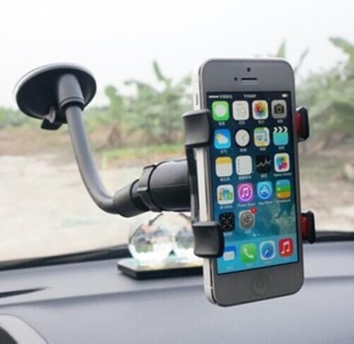 BEST SELLER BISA COD, Car Phone Holder (Model jepit, muat hp uk kecil hingga hp max 6 INCH) - Hitam Harga Diskon, Promo Termurah, Bayar di Tempat - NOURISHH INDONESIA